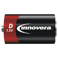 Innovera 11024 AA Alkaline Batteries, 24 Pack