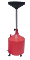 John Dow JDI-18DCP 18 Gallon Poly Portable Oil Drain