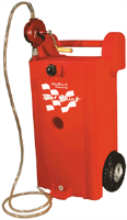 John Dow JDI-25GC-P1 25 Gallon Poly Gas Caddy w/Heavy-Duty Pump