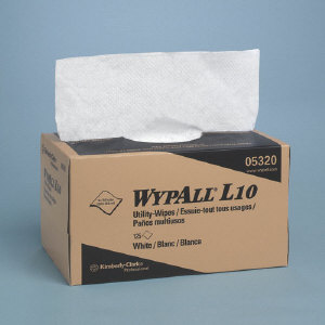 Kimberly Clark 05320 Wypall® L10 Utility Wipes