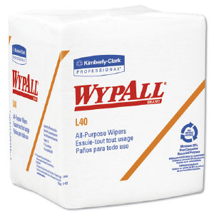 Kimberly Clark 05701 Wypall® L40 Wipers, 18/56