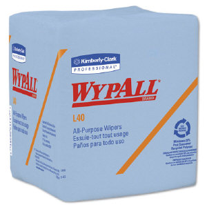 Kimberly Clark 05776 Wypall® L40 Blue Wipers, 12/56