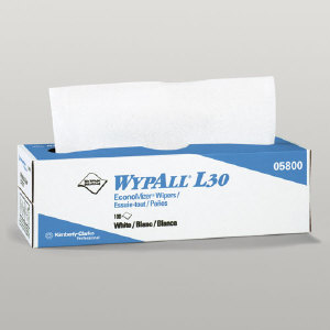 Kimberly Clark 05800 Wypall® L30 Wipers, 8/100