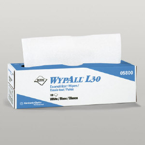 Kimberly Clark 05816 Wypall® L30 Wipers, 6/120