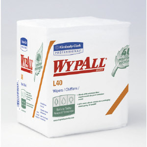 Kimberly Clark 11805 Wypall® L40 Wipers, 18/76