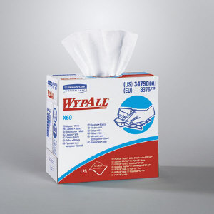 Kimberly Clark 34790 Wypall® X60 Wipers, 10/126