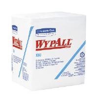 Kimberly Clark 34865 Wypall® X60 Wipers, 1/4 Fold, 12/76