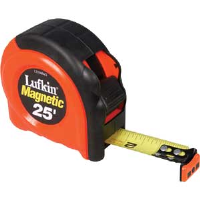 "Cooper Tools L725MAG Lufkin® 700 Series Mag. Tape Measure,1"" x 25'"