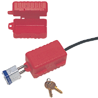 North Safety LP110 E-Safe® Electrical Plug Lockout, 110V Plugs
