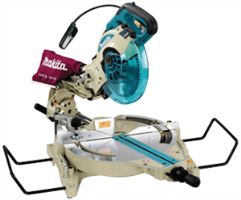 "Makita LS1013FL 10"" Dual Slide Compound Miter Saw"