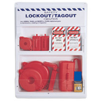 North Safety LSE101F Small Complete Lockout Station