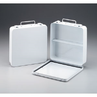 First Aid Only M5020 24-Unit (Empty) w/1 Shelf and Gasket (Metal)