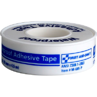 "First Aid Only M685-P Waterproof First Aid Tape w/Plastic Spool, 1/2"" x 5 yds"