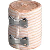 "First Aid Only M697 Elastic Bandage w/2 Fasteners, 2"" x 5 yds"