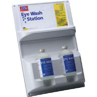 First Aid Only M7012/ALT Eye Wash Station, Dual Bottles, 2/16 Oz.