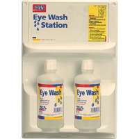 First Aid Only M7013/ALT Eye Wash Station, Dual Bottles, 2/32 Oz.