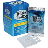 First Aid Only M796-THERA Thera Tears Lubricant Eye Drops, 32/Box