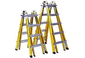 Little Giant 10717 Type 1A Fiberglass Ladder - Model 17