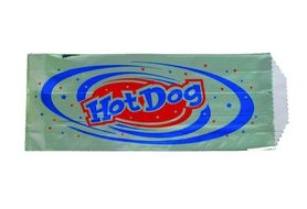 GW 12119 Foil Bags for Hot Dogs, 100/Cs.