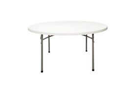 "National Public Seating BT3096 60"" Round Blow Molded Table"