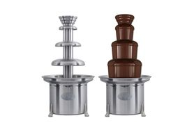 "Sephra 10155 THE MONTEZUMA - 34"" Commercial Chocolate Fountain-Brushed"
