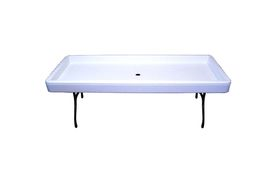 Fill'n Chill 1FNC7765 White Fill & Chill Party Table, 6 Ft.
