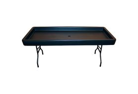 Fill'n Chill 1FNC8765 Black Fill & Chill Party Table, 6 Ft.