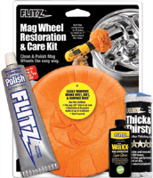 Flitz MW51502 Mag Wheel Restoration & Care Kit
