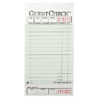 National Check A3632 GuestChecks™ Restaurant Guest Receipt Pads