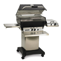 Broilmaster P3-SX Super Premium Gas Grill with Stainless Steel Rod Grids, Propane