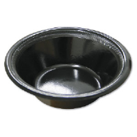 Pactiv TXB0012 Black Laminate Foam Bowls, 12 Ounce, 1000/Cs.