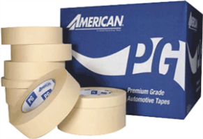 "American Tape PG2743 Premium Automotive Refinishing Tape, 1"" x 60 yds"