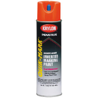 Krylon PIFO20S Quick-Mark™ Solvent-Based Marking Paint,Fluorescent Orange