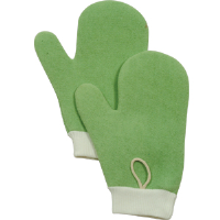 Rubbermaid Q650 Microfiber Dust Mitt, Green