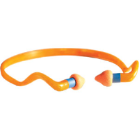 Sperian QB2HYG Howard Leight Banded Earplugs, 10/Bx.