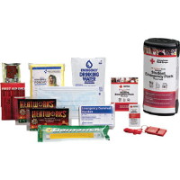 First Aid Only RC-608 Deluxe Student Emergency Pack w/Food