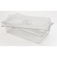 Rubbermaid 108P-23 CLE Cold Food Pan Covers, 1/6 Size