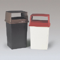 Rubbermaid 256B CRE 56 Gallon Waste Container