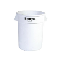 Rubbermaid 2610 WHI BRUTE® Round Container, 10 Gal, White