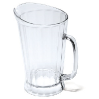 Rubbermaid 3334 CLE Bouncer® II Clear Pitcher 60 Oz.