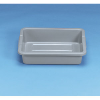 Rubbermaid 3349 GRA Bus Box Container, Gray
