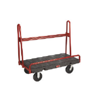 Rubbermaid 4463 BLA A-Frame Panel Truck, 2000 Lb.