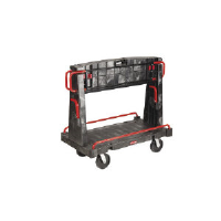 Rubbermaid 4465 BLA Convertible A-Frame Truck 24 x 44