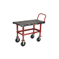 Rubbermaid 4473 BLA Work Height Platform Truck, 24 x 48""