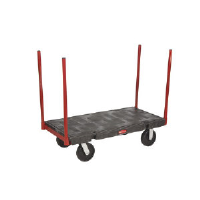Rubbermaid 4482 BLA Stanchion Platform Truck, 24 x 36""