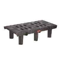 Rubbermaid 4489 BLA Dunnage Rack, 24X36 1500 LB
