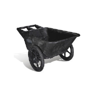 Rubbermaid 5642 BLA Big Wheel™ Utility Cart