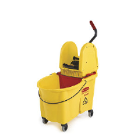 Rubbermaid 7576-88 YEL WaveBrake® Foot Activated Mop Combo, 44 Quart