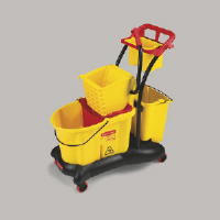 Rubbermaid 7780 YEL WaveBrake® Side Press Mopping Trolley