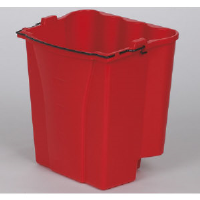 Rubbermaid 9C74 RED Dirty Water Bucket for WaveBrake® Mop Combos